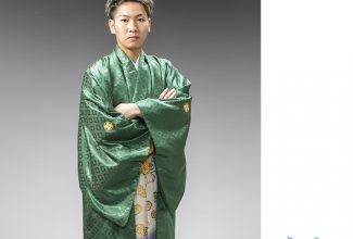 成人式男袴レンタル写真